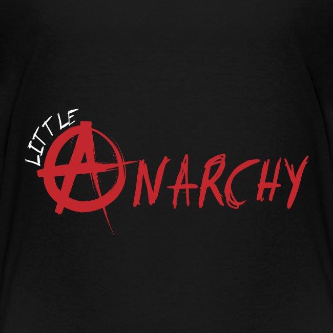 Little Anarchy Logo for black background