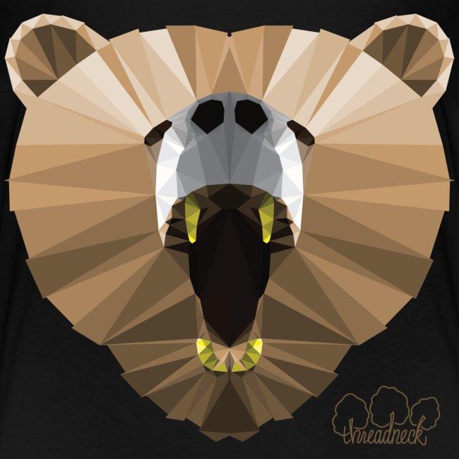 Hungry Bear Women's V-Neck T-Shirt
