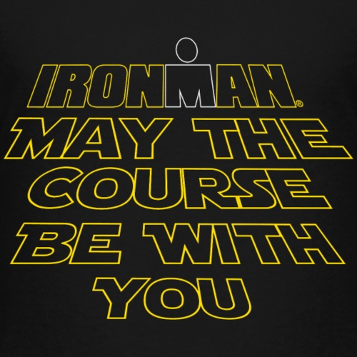 may the course be with you - Toddler Premium T-Shirt