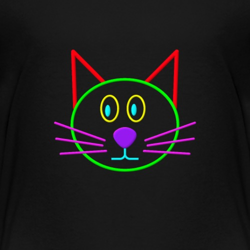 Colour cat - Toddler Premium T-Shirt