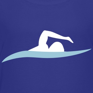 freestyle swimming - Toddler Premium T-Shirt
