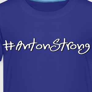 Anton Strong White Set 2 - Toddler Premium T-Shirt