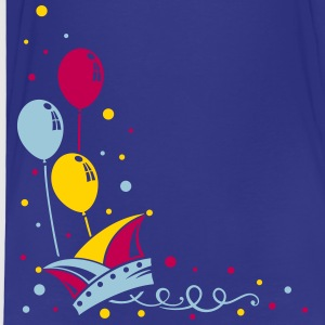 Carnival hat with balloons, streamer and confetti. - Toddler Premium T-Shirt