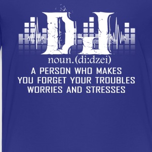 Awesome DJ Shirt - Toddler Premium T-Shirt