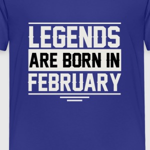 Birthday February - Toddler Premium T-Shirt
