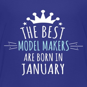 Be MODEL_MAKERS are born in january - Toddler Premium T-Shirt