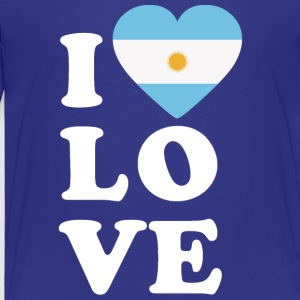 I love Argentina - Toddler Premium T-Shirt