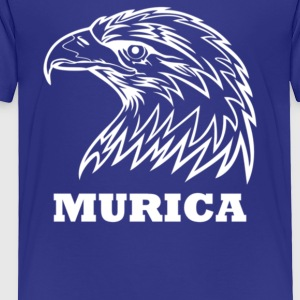 Murica Patriotic - Toddler Premium T-Shirt