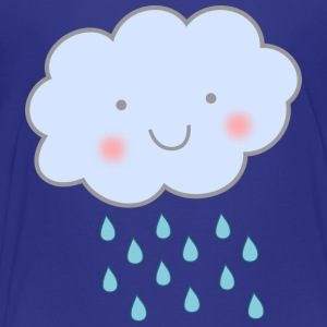 cute rain cloud - Toddler Premium T-Shirt