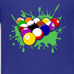 Billiards Tee & Hoodie - Toddler Premium T-Shirt