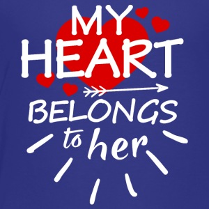 My heart belongs to her - Toddler Premium T-Shirt
