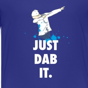 dab just dabbing football touchdown mooving dance - Toddler Premium T-Shirt