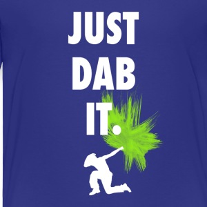 just dab it DAB panda dabbing football touchdown - Toddler Premium T-Shirt