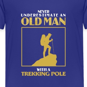Old Man Trekking - Toddler Premium T-Shirt