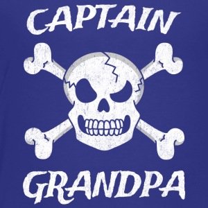 Captain Grandpa Funny Pirate Fun Halloween Costume - Toddler Premium T-Shirt