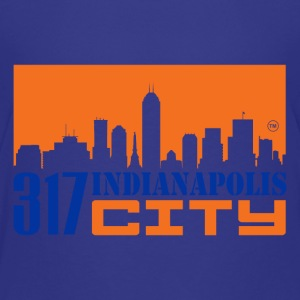 317INDIANAPOLIS CITY - Toddler Premium T-Shirt