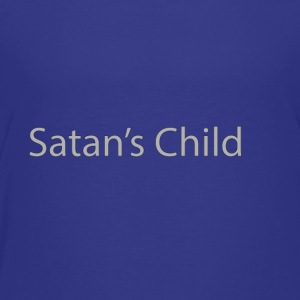 Satan's Child text - Toddler Premium T-Shirt