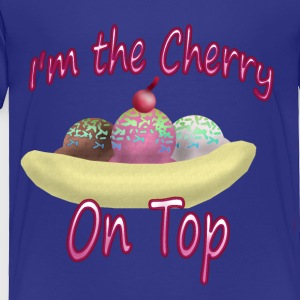 Cherry on Top - Toddler Premium T-Shirt