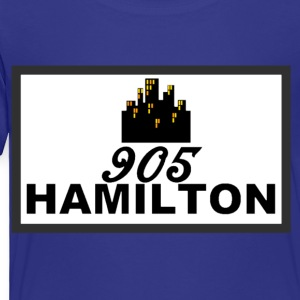 905 HAMILTON CITY #RepYourCity - Toddler Premium T-Shirt