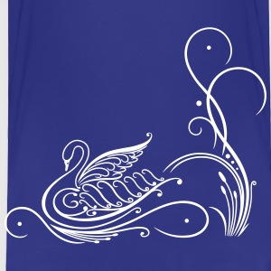 Filigree calligraphy swan with reed - Toddler Premium T-Shirt