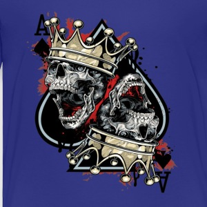 Skull and crown - Toddler Premium T-Shirt