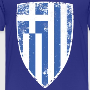 Shield of Greece - Toddler Premium T-Shirt