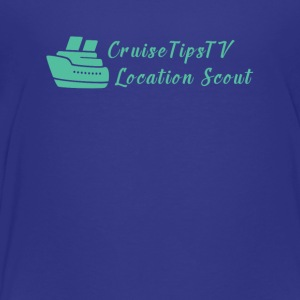 CruiseTipsTV Location Scout - Toddler Premium T-Shirt