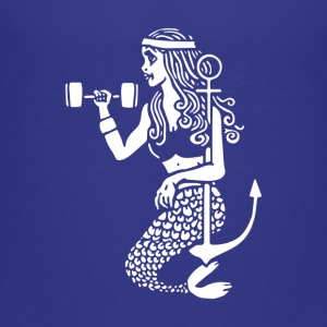 the Workout Mermaid - Toddler Premium T-Shirt
