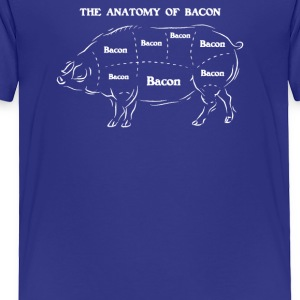 Anatomy Of Bacon - Toddler Premium T-Shirt