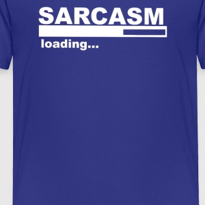 Sarcasm Funny Comic Technology Laugh - Toddler Premium T-Shirt