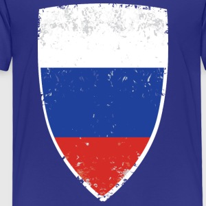 Flag of Russia - Toddler Premium T-Shirt