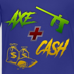Axe + Cash - Toddler Premium T-Shirt