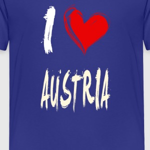 I love AUSTRIA - Toddler Premium T-Shirt