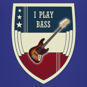 i play bass - Toddler Premium T-Shirt
