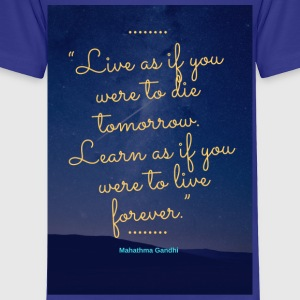 Live&Learn - Toddler Premium T-Shirt