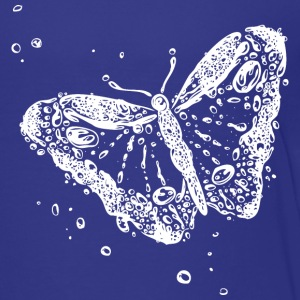 Water splash, butterfly and water drops. - Toddler Premium T-Shirt