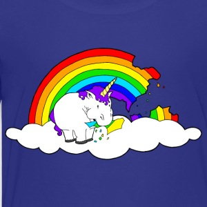 Chunky Unicorn Rainbow - Toddler Premium T-Shirt