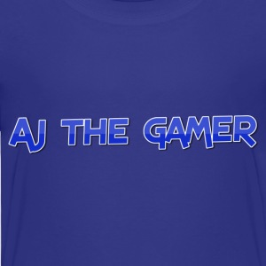 Aj the gamer - Toddler Premium T-Shirt