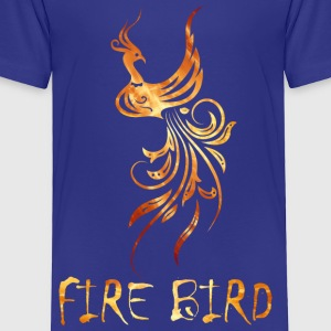 FIre bird on your shirt - Toddler Premium T-Shirt