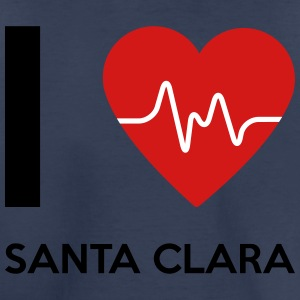 I Love Santa Clara - Toddler Premium T-Shirt