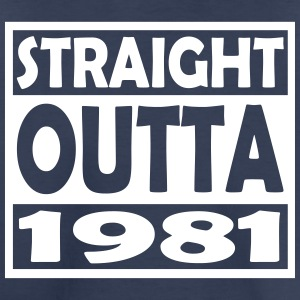 36th Birthday T Shirt Straight Outta 1981 - Toddler Premium T-Shirt