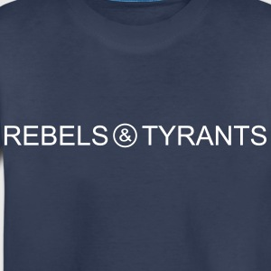 Rebels Tyrants ver1 1 black text final - Toddler Premium T-Shirt