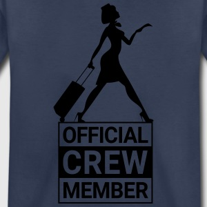 OFFICIAL CREW MEMBER - Toddler Premium T-Shirt