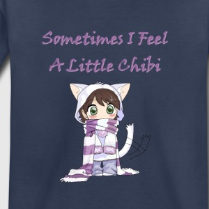 Little cute chibi girl kids - Toddler Premium T-Shirt
