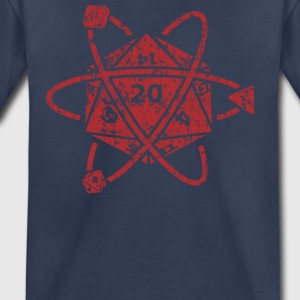 D20 Atom Dungeons apparel - Toddler Premium T-Shirt