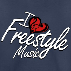 I love Freestyle Music - Toddler Premium T-Shirt