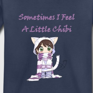 Sometimes I feel a little chibi, cute cat girl - Toddler Premium T-Shirt