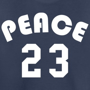 Peace - Team Design (White Letters) - Toddler Premium T-Shirt