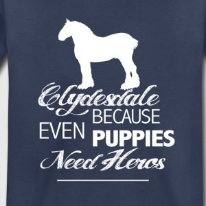 Clydesdale Love - Toddler Premium T-Shirt