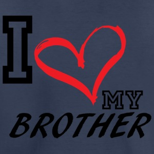 I_LOVE_MY_BROTHER - PLUS SIZE - Toddler Premium T-Shirt